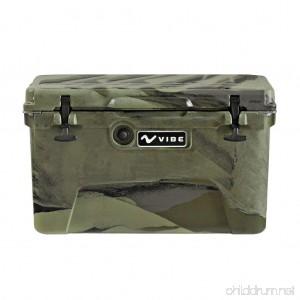 Vibe Kayaks Vibe Element 45Q Cooler with Bottle Opener Hunter Camo - B01BOBCLU0
