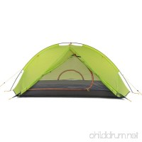 1 Person Tent Double Camping Tent Outdoor Fold Tent Portable Rain-Proof Foldable For Camping Outdoor Silicone Aluminium Nylon - B07D1LLVSY