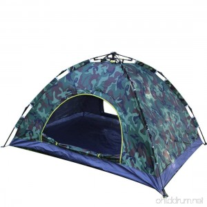 Beneyond Outdoor Tents 3-4 Automatic/Pop up Tents Camouflage/Pull Rope Type/Visor Camping Tents - B07FXL6L6V