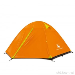 Camping Tent Outdoor Fold Tent Waterproof Windproof Ultraviolet Resistant Foldable Breathability For Hiking - B07D2DL4SK