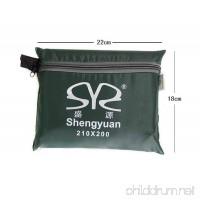 FHGJ Sheng Yuan Picnic Pad Tent Tarps Outdoor Heat Insulation  Moistureproof  Waterproof  Thick For Traveling - B07D1LQCN5