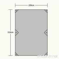 FHGJ Sleeping Pad Tent Tarps Outdoor Moistureproof Moisture Permeability Waterproof Portable Foldable Thick PU Oxford Nylon Nylon - B07D1PF4BP