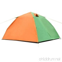 Fully Automatic Pop up Tent  Double People  Double Decker  Camping Tent; Outdoor shade  waterproof  camping Beach Tent - B07FXR5LWD