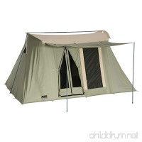 Springbar Highline 8 10x14 Foot Canvas Tent Water-Tight Cotton Canvas 8-Person Family Camping and Car Camping Tent - B01570LZHY