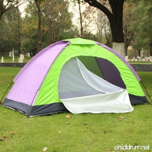 TRIEtree Camping Tent Single Persons Portable Hand Ride Sun Shade Rain-blocking Beach Tent with Carry Bag for Outdoor Camping Hiking Travel Fishing by - B07BNMRYNQ