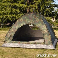 YUIOP Portable 1-2 Person Tent Camouflage Waterproof Windproof Camping Tent Outdoor Hiking Traveling - B0749K3CJN