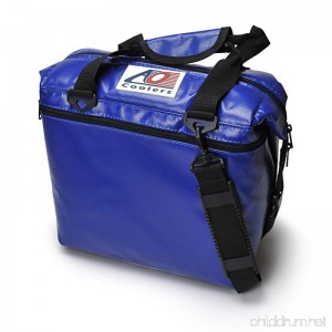 AO Coolers Water-Resistant Vinyl Soft Cooler with High-Density Insulation 12-Can to 48-Can - B002ZPX3RA