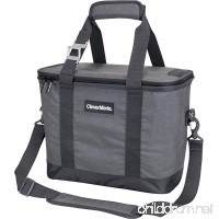 CleverMade SnapBasket 30 Can Soft-Sided Collapsible Cooler: 20 Liter Insulated Tote Bag with Shoulder Strap - B07D82Z96B