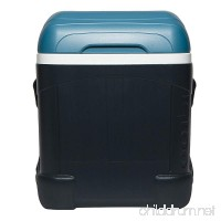 Igloo MaxCold 70 Qt Roller Cooler Jet Carbon/Ice Blue/White - B0126669YQ