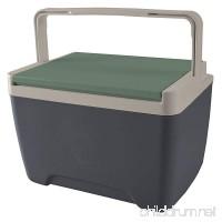 Igloo Sportsman Cooler  9 quart/8 L  Tactical Gray/Sand Dune Tan/Field Service Green - B01N9KHQ0Y