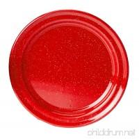 """GSI Outdoors Red Graniteware 12.5"""" Platter - B000Q98JYO"""