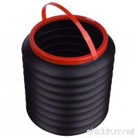 Egoelife Portable Folding Water Bucket Collapsible Water Bucket Camping Hiking Bugout - B07B3N8JYH