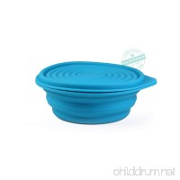 STAR-FIVE-STORE Collapsible Silicone Camping Bowl  Lunch boxes  Food-grade and BPA-free & Space-Saving - B07DFFP7ZL
