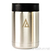 Aspen Stainless Steel Cooler Coozie Koozie Holder for 12 oz Glass Bottle or Beer Can Insulator Beverage Outdoor  Camping Double wall Vacuum Insulated Mug IMPERFECT BOX - B07BH7HGZR