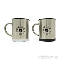Burlybear knows Java. Double Wall Stainless Steel Coffee Mug Set. Each Insulated  15 oz Mug Delivers Spill Resistant Lids. Unbreakable  Portable and Ready for Any Adventure. - B078HV67HJ