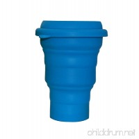 LevelOne Collapsible Travel Silicone Camping Cup 16oz BPA Free - B00U8CP18Q