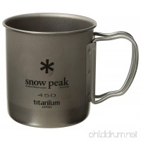 Snow Peak Men's Single Wall 450 Mug - B07CMFCW5G