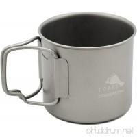 TOAKS Titanium 375ml Cup - B009AP2ZFY