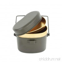 CNC-191 Military pot / Camping Cookware / Survival / Tactical / (7 X 4.3 X 5.7 Inch) - B07B2R9W9B