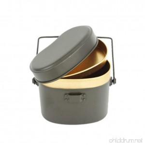 CNC-191 Military pot / Camping Cookware / Survival / Tactical / (7 X 4.3 X 5.7 Inch) - B07B2R9W9B