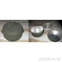 Czech 3 Piece Mess Kit - HD Aluminum  Czech Military Surplus - B00CHRPLP8