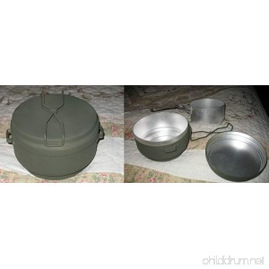 Czech 3 Piece Mess Kit - HD Aluminum Czech Military Surplus - B00CHRPLP8