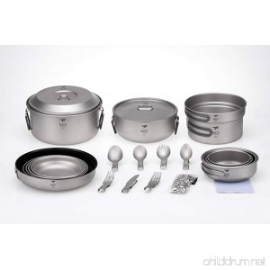 Keith Titanium Ti6201 22-Piece Dinnerware Set for 4 - B01NBBYG00