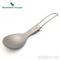 Titanium Lightweight Outdoor Dinnerware Eco-friendly Healthy Cutlery and Kitchenware - B01EI05ZA2