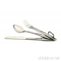 TOAKS Titanium 3-Piece Cutlery Set - B0098FEUXQ