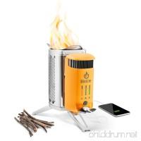 BioLite CampStove 2 Wood Burning and USB Charging Camping Stove - B01FWRICY6