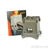 Emberlit Stainless Steel stove Compact Design Perfect for Survival  Camping  Hunting & Emergency Preparation - B00ADUYW9M