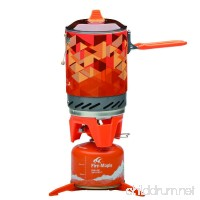Fire-Maple Star FMS-X2 Outdoor Cooking System Portable Camp Stove with Piezo Ignition POT Support & Stand - Ultralight Compact Windproof High Heating Efficiency - Propane & Butane Canisters - Camping - B013PRD4IE