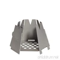 Vargo Stainless Steel Wood Stove - B007RJ47KG