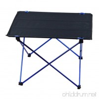 1pc Outdoor Folding Table Ultra-light Aluminum Alloy Structure Camping Table - B0745JD6NV