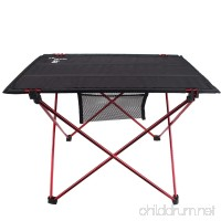 Magarrow Lightweight 600D Oxford Portable Camping Table Portable Folding Desk (Black) - B071FNT2GW