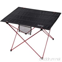 SUNVP Ultralight and Portable Folding Camping Table with Carrying Bag for Outdoor Camping Hiking Picnic - B01DNVY4GS