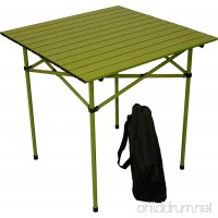 Table in a Bag TA2727G Tall Aluminum Portable Table with Carrying Bag  Green - B003WSKHEG