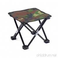 ENCOCO Portable Folding Stool Chair Camping Stool for Fishing Hiking Gardening Beach - B07F7TPNTD