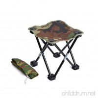 HOBULL Outdoor Portable Stool Folding Chairs Camping Stool Ultralight Camping Chair Collapsible - B07FB9TNV3