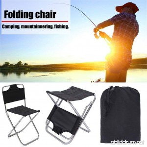 Seasaleshop Lightweight Aluminum Folding Fishing Camping Backpack Chairs Portable Breathable And Comfortable Perfect for Hiking/Fishing/Camping - B07DL8Q823