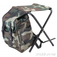 Seatechlogy Foldable fishing backpack chair fishing backpack free chair folding chairs backpack Fishing Backpack Stool coat Oxford cloth thermal bag for fishing Beach Camping home and travel - B07FF5MWK8