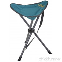 Uquip Darcy Portable Folding Stool for Camping and Sports - Petrol/Gray - B01BFVJ3QY