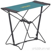 Uquip Portable Folding Stool Fancy for Camping and Sports - Petrol / Gray - B01FSNEXQ0