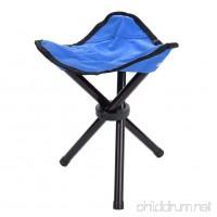 VGEBY Folding Tripod Chair  Portable Lightweight Folding Tripod Fishing Camping Stool for Outdoor Camping Walking Hunting Hiking Fishing Travel - B07CTFYXDT