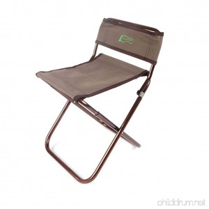 Wind Goal Folding Stool Chair with Backrest Portable Folding Chair for Hiking Fishing Park BBQ Traveling Gardening Camping Outdoor - B07F73JBF1