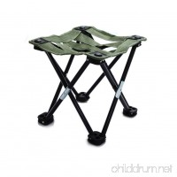 Wind Goal Portable Folding Stool Compact Ultralight Folding Stool with Carry Bag for Hiker  Camp  Beach  Outdoor - B07F75VBQ8