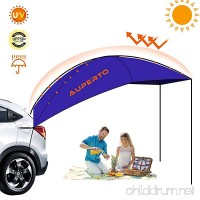 AUPERTO Camping Tent 3-4 Person Sun Shelter Auto Canopy Camper Portable Foldable Outdoor Tent Waterproof Anti-uv Best for SUV MPV Hatchback Minivan Sedan - B07C5KX96S