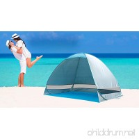 Automatic Pop Up Instant Portable Outdoors Beach Tent   Lightweight Portable Family Sun Shelter Cabana  Provide UPF 50+ Sun Shelter - B0727QQP9N
