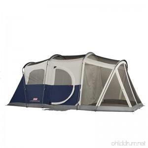 Coleman Elite WeatherMaster 6 Screened Tent Multi Colored 6L x 9W ft. (Screened Area) - B001RPIOMI