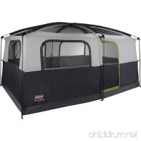 Coleman Prairie Breeze 9-Person Cabin Tent Black and Grey Finish - B004RDQK0K